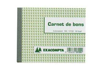 CARNET BON 105X135 DUPLI