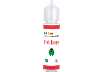 FL 50ML 50/50 FRUITS ROUGES 0MG