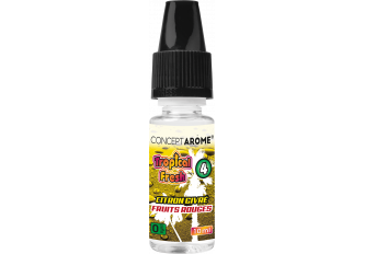 3x10ML TROPICAL FRESH N°4 0MG