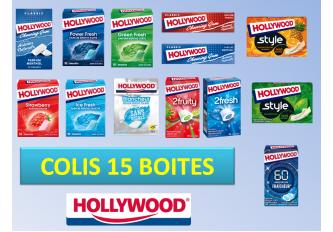 COLIS 15 BOITES HOLLYWOOD