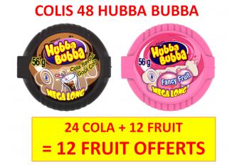 COLIS HUBBA 3 BOITES + 1