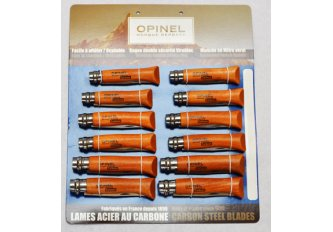 CARTE 12 COUTEAUX OPINEL 6.7.8