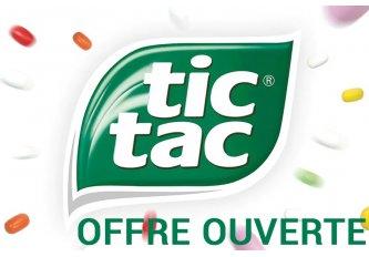 OFFRE OUVERTE - GAMME TIC-TAC PM
