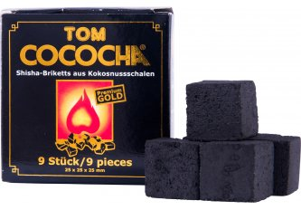 LOT 36+12 ETUIS CHARBONS TOM COCOCHA GOLD