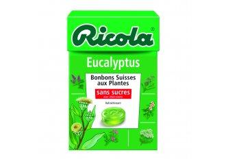 B.20 ETUIS RICOLA EUCALYPTUS