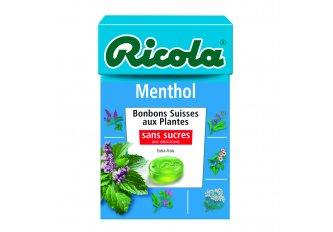 B.20 ETUIS RICOLA MENTHOL