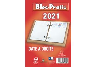 BLOC PRATIC DATE A DROITE