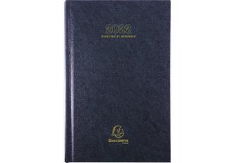 AGENDA CARRE RECETTES DEPENSES 1 JOUR 13,50 x 21 CM