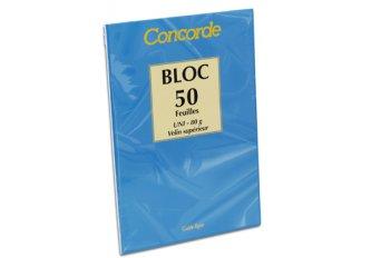 C. 10 BLOCS A LETTRE A4 UNIS