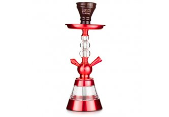 CHICHA H2 3 BOULES ROUGE