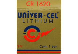 B.5 PILES LITHIUM CR1620