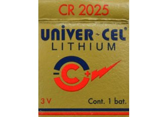 B.15 PILES LITHIUM CR2025