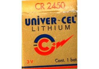 B.5 PILES LITHIUM CR2450