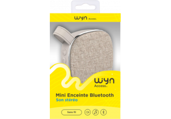 MINI ENCEINTE BLUETOOTH WYN